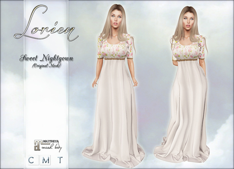 LORIEN SWEET NIGHTGOWN BOXED