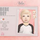 Bebe Boy Mesh Head