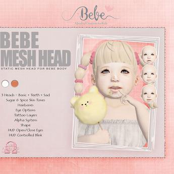 Bebe Mesh Head