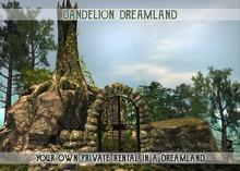 "❀ Dandelion Dreamland Rental - Info & Gift - Cave House ""Wild at heart"""