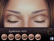 RichB. Eyebrows #01 (Genus Head)