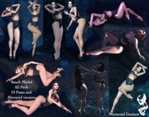 Nocturnal Couture Pose Beach Model FATPACK