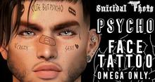 [Suicidal Thots] Psycho Face Tattoo