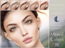 Eyebrows, Genus: LaraDawn.HighArch.MixedColors