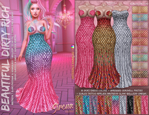 *B.D.R.* Sirena -2 in 1 Outfit-