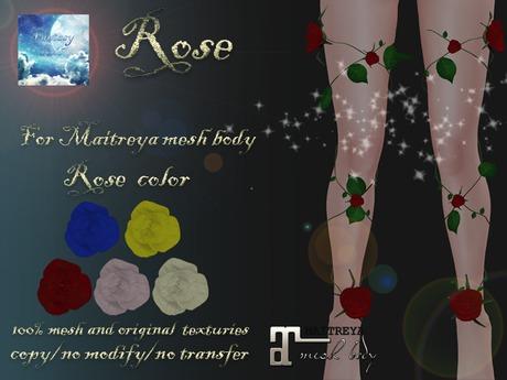 {Fantasy world} Rose[Maitreya]