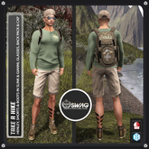 [RnR] Swag Take a Hike His Outdoor Outfit Includes Signature Gianni & Slink!