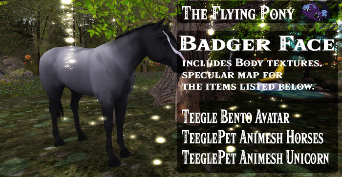 .:TFP:.  Badger Face - GIFT - Free In World