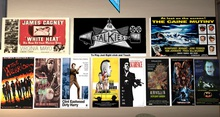 Talking Movie Posters Set 1 Hollywood Tough Guys