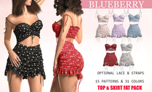 Blueberry - Moki - Skirt & Tops - DEMO