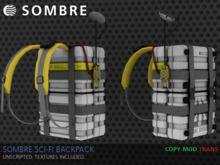 Sombre Sci-Fi Backpack