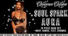 [Cinnamon Cocaine] Soul Spark Aura (add & touch)