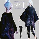 KIMONO-sleeve shirt (senji) ★ Contemporary Japanese-style clothes