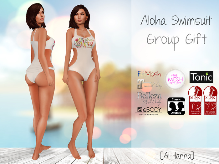 [Al-Hanna] Aloha Swimsuit Group Gift