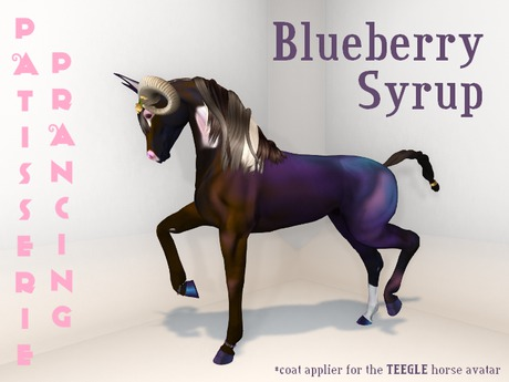 {P.P} Blueberry Syrup TH and Teegle Pet Applier
