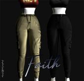 \\FAITH// Cargo Pants W/ T-C Hud