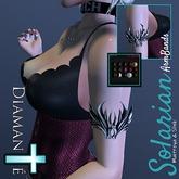 :Diamante: Solarian ArmBands (Maitreya & Slink)