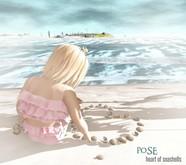 p.o.s.e. (add)  heart of seashells