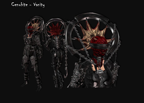 [LH] Cenobite - Vanity - Full Monster / Demon / Hellraiser inspired Original Avatar with detailed skinned face! Unisex!