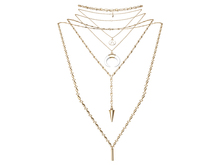 MINIMAL - Ollie Necklace Gold