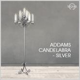 Sequel - Addams Candelabra - Silver