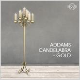 Sequel - Addams Candelabra - Gold (Wear Me)