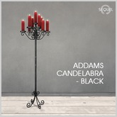 Sequel - Addams Candelabra - Black (Wear Me)