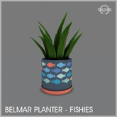 Sequel - Belmar Planter - Fishies