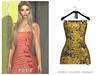 POSIE - Diana Mini Dress .FLEURS