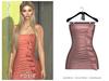 POSIE - Diana Mini Dress .BLUSH