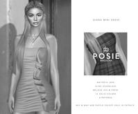 POSIE - Diana Mini Dress .DEMO