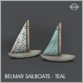 Sequel - Belmar Sailboats - Teal (Add)