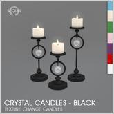 Sequel - Crystal Candles - Black