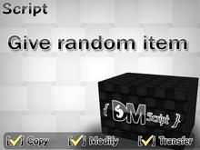 Give random item Script