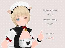 Cherry head+Kemono body mod - Anime02