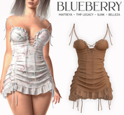 Blueberry - Moki - Dress - Tan