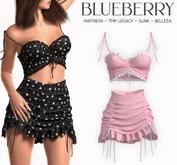 Blueberry - Moki - Skirt & Tops - Pixie