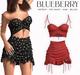 Blueberry - Moki - Skirt & Tops - Red