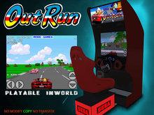 Arcade Out Run - Playable (PROMO!)