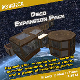 TARDIS Expansion Room, Deco Pack