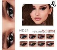 ::SG:: HD21  Eyeshadow for AKERUKA DELUXE HEADS ONLY!