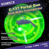C-137 Portal Gun