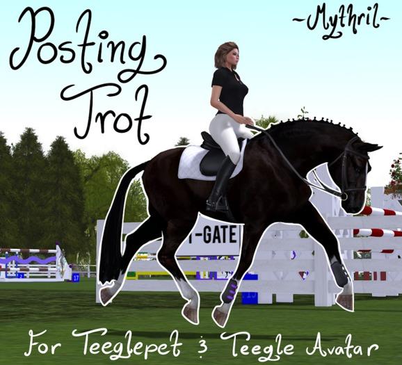 ~Mythril~ TeeglePet & Avatar: Posting Trot