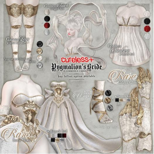 CURELESS[+] Pygmalion's Bride / Goddess Touch Halo / BLACK