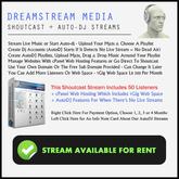 Shoutcast + AutoDJ (50 Listeners) 2GB Hosting (Monthly) ID06