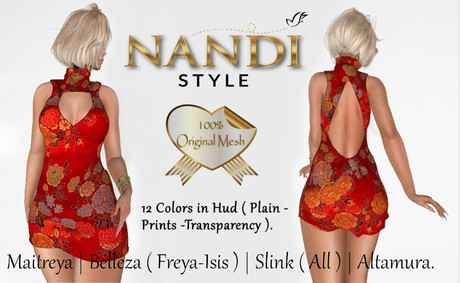 Bag Dress Tamara -  *Nandi Style*