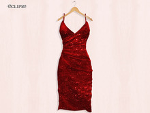 Cass Dress (W/HUD) Slink-Belleza-Maitreya-FitMesh .:Eclipse:.