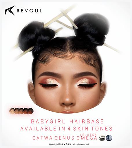 REVOUL - BabyGirl Hairbase