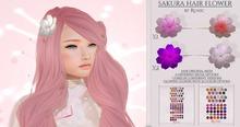 .: Runic :. Sakura Hair Flower