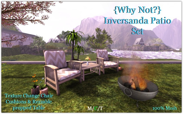 {Why Not?] Inversanda Patio Set-Boxed